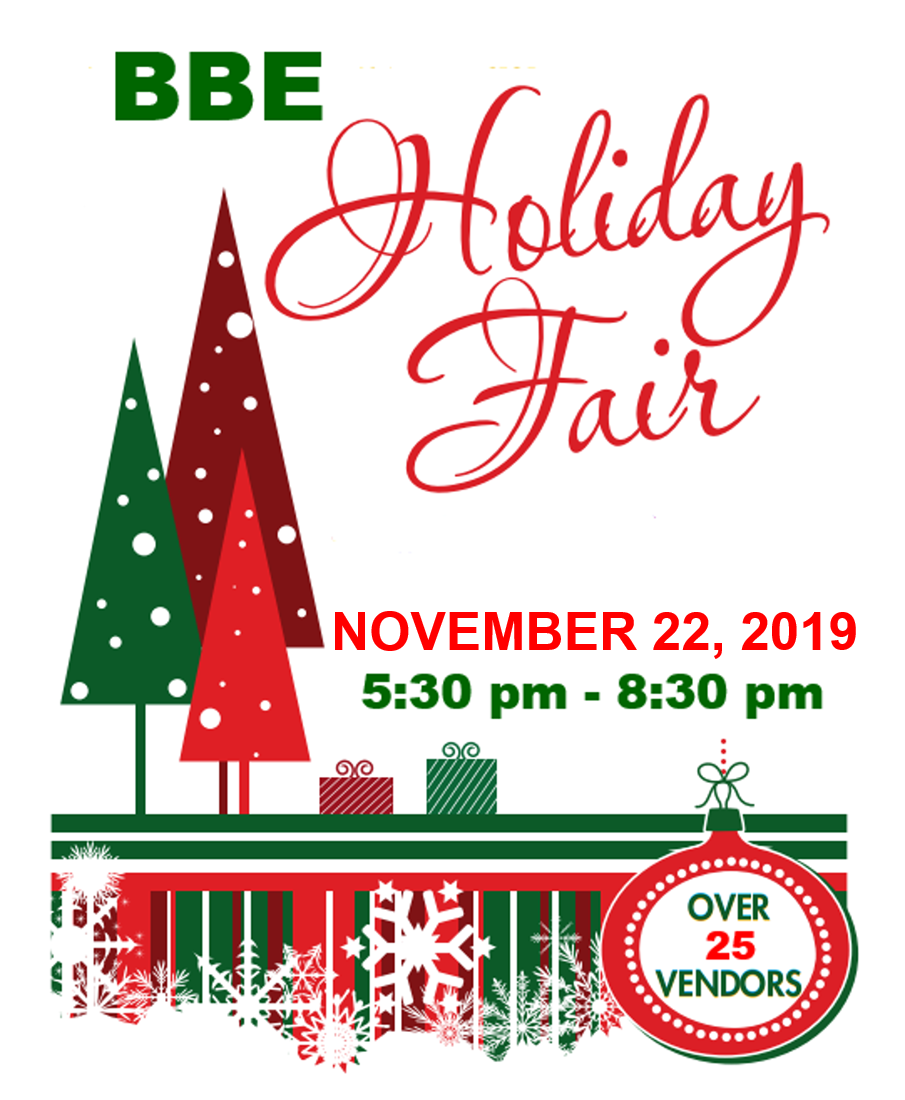 SAVE THE DATE: 2019 Networking Event & BBE Holiday Fair!