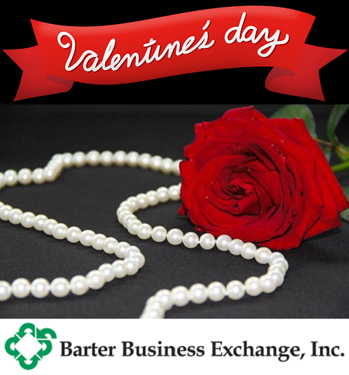 Use BBE barter dollars to buy your Valentine's Day gifts!