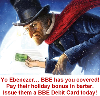 Give the Gift of Barter this Holiday Season